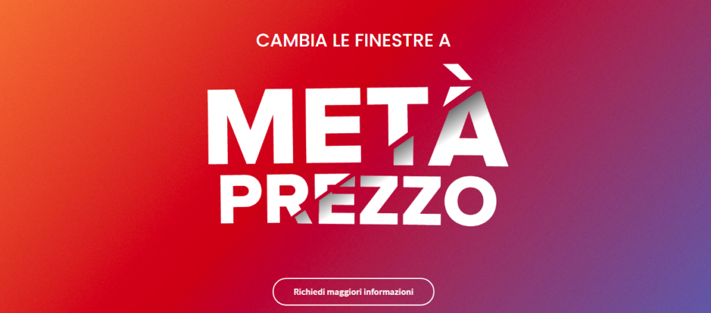 infissi modena-meta-prezzo